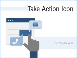 Take Action Icon Programmer Gear Corporate Experience Production Planning