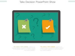 Take Decision Powerpoint Show