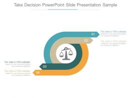 Take Decision Powerpoint Slide Presentation Sample