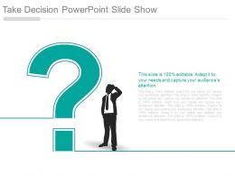 Take Decision Powerpoint Slide Show