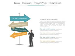 Take Decision Powerpoint Templates