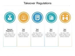 Takeover Regulations Ppt Powerpoint Presentation Model Samples Cpb