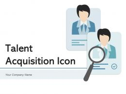 Talent Acquisition Icon Process Growth Leadership Organization Workforce