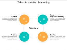 Talent Acquisition Marketing Ppt Powerpoint Presentation Slides Ideas Cpb