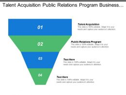 Talent Acquisition Public Relations Program Business Techniques Business Techniques
