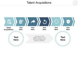Talent Acquisitions Ppt Powerpoint Presentation Layouts Samples Cpb