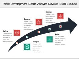 Talent Development Define Analyze Develop Build Execute