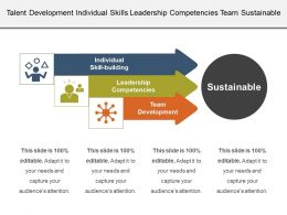 Talent Development Individual Skills Leadership Competencies Team Sustainable