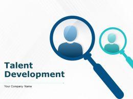 Talent Development Powerpoint Presentation Slides