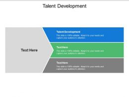 Talent Development Ppt Powerpoint Presentation Inspiration Diagrams Cpb