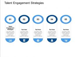 Talent Engagement Strategies Ppt Powerpoint Presentation Layouts Images Cpb