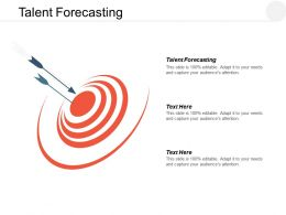 Talent Forecasting Ppt Powerpoint Presentation Layouts Templates Cpb