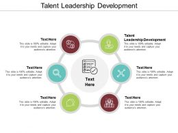 Talent Leadership Development Ppt Powerpoint Presentation Pictures Designs Cpb