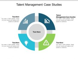 Talent Management Case Studies Ppt Powerpoint Presentation Visual Aids Pictures Cpb