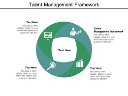 Talent Management Framework Ppt Powerpoint Presentation Gallery Layouts Cpb