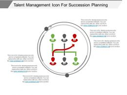 talent_management_icon_for_succession_planning_ppt_examples_Slide01