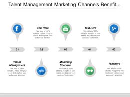 Talent Management Marketing Channels Benefit Plan Vulnerability Management Cpb