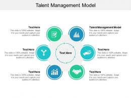 Talent Management Model Ppt Powerpoint Presentation File Example File Cpb