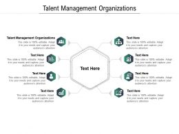 Talent Management Organizations Ppt Powerpoint Presentation Infographic Template Model Cpb
