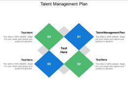 Talent Management Plan Ppt Powerpoint Presentation Slides Grid Cpb