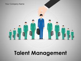 Talent Management Powerpoint Presentation Slides
