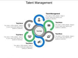 Talent Management Ppt Powerpoint Presentation Ideas Graphics Pictures Cpb