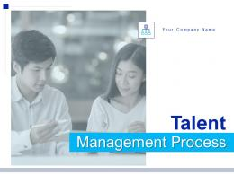 Talent Management Process Powerpoint Presentation Slides