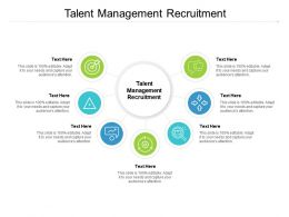 Talent Management Recruitment Ppt Powerpoint Presentation Professional Backgrounds Cpb