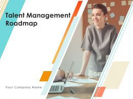 Talent Management Roadmap Powerpoint Presentation Slides