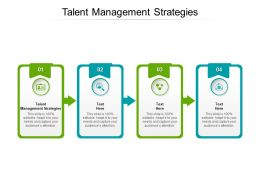 Talent Management Strategies Ppt Powerpoint Presentation Gallery Objects Cpb
