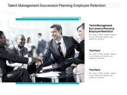 Talent Management Succession Planning Employee Retention Ppt Tips Cpb