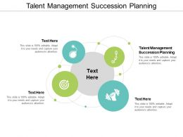 Talent Management Succession Planning Ppt Powerpoint Presentation Styles Guide Cpb