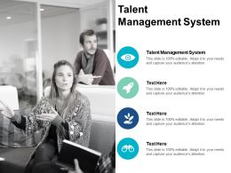 Talent Management System Ppt Powerpoint Presentation Infographics Ideas Cpb