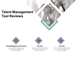 Talent Management Tool Reviews Ppt Powerpoint Presentation Styles Slide Cpb