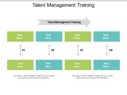 Talent Management Training Ppt Powerpoint Presentation Infographics Layouts Cpb