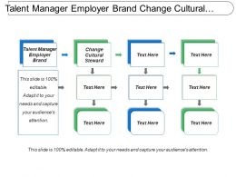Talent Manager Employer Brand Change Cultural Steward Strategic Partner