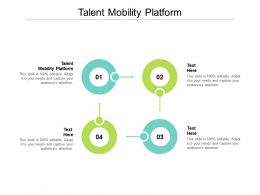 Talent Mobility Platform Ppt Powerpoint Presentation Professional File Formats Cpb
