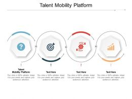 Talent Mobility Platform Ppt Powerpoint Presentation Summary Template Cpb