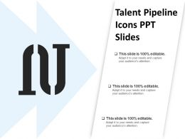 Talent Pipeline Icons Ppt Slides