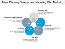 Talent Planning Development Marketing Plan Market Competitor Analysis Cpb