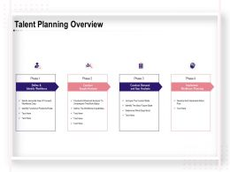 Talent Planning Overview Supply Analysis Ppt Powerpoint Templates