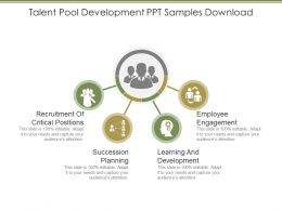 Talent Pool Development Ppt Samples Download