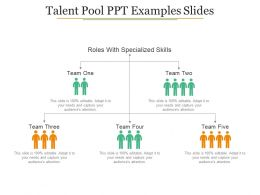 Talent Pool Ppt Examples Slides