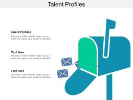 Talent Profiles Ppt Powerpoint Presentation Layouts Slide Download Cpb