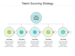 Talent Sourcing Strategy Ppt Powerpoint Presentation Portfolio Show Cpb