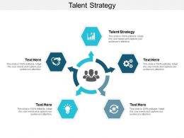 Talent Strategy Ppt Powerpoint Presentation Layouts Demonstration Cpb