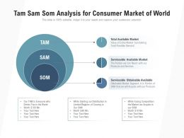 Tam Sam Som Analysis For Consumer Market Of World
