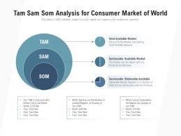 Tam Sam Som Analysis For Consumer Market Of World