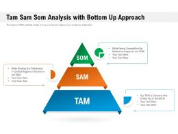 Tam Sam Som Analysis With Bottom Up Approach