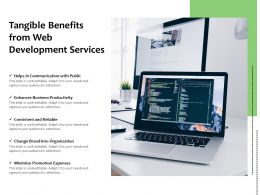Tangible Benefits From Web Development Services